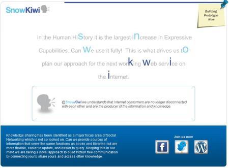 SnowKiwi Homepage